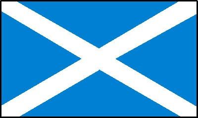 Schottland Gastlandflagge
