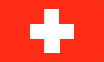 Schweiz Gastlandflagge