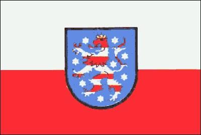 Thüringen Gastlandflagge