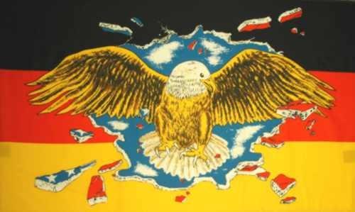 Deutschland mit durchbrechendem Adler