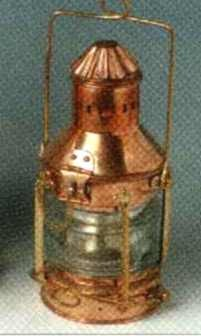 Ankerlaterne Kupfer h = ca. 26 cm